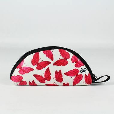 W Pocket Mini Rolling Pouch - Butterfly
