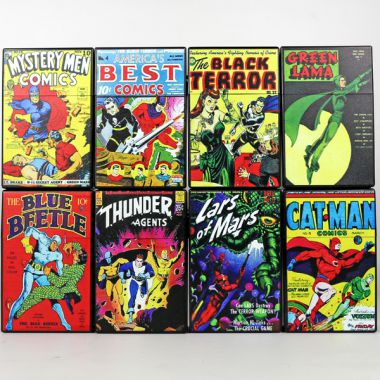 Atomic Comic Book Cigarette Boxes