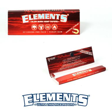 Elements Hemp 1 1/4 Papers