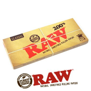 Raw Classic Kingsize Supreme 200's