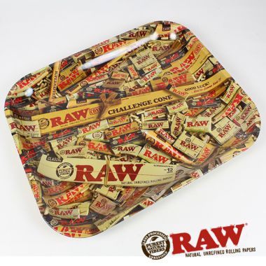 Raw Mixed Packs Rolling Tray