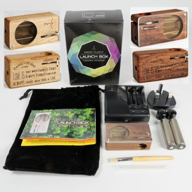 Magic Flight Launch Box Premium Wood Mini Vaporizer