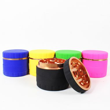 Silicon Covered Aluminium 63mm Sifter Grinder