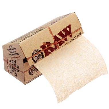 RAW Unrefined Parchment Paper Roll 10cm x 4m