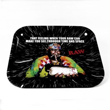 RAW 'Oops' Metal Rolling Tray