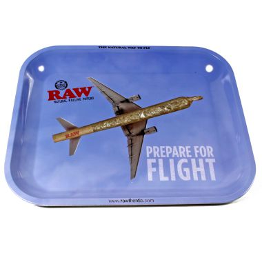 RAW 'Flying' Metal Rolling Tray