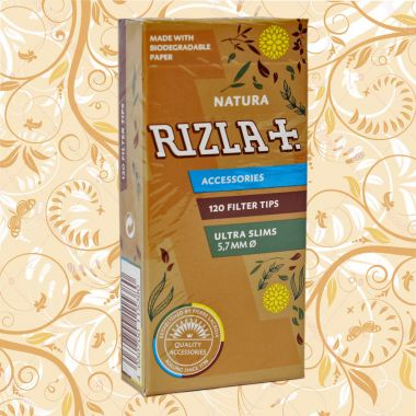 Rizla Natura Filter Tips - Ultra Slim