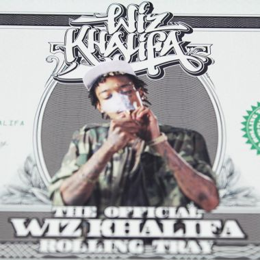 RAW Official Wiz Khalifa Rolling Tray (280mm x 180mm)