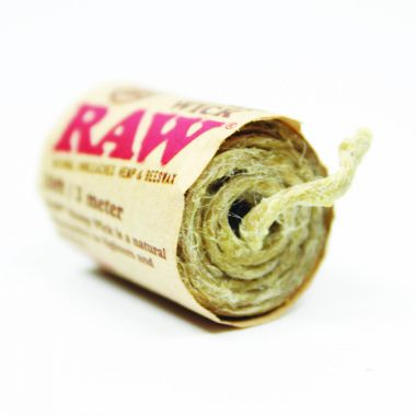 RAW Natural Unbleached Hemp Wick