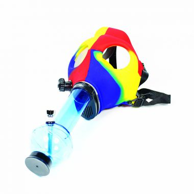Gas Mask Bong - Multi-Coloured