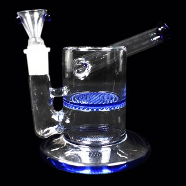 Crystal Honeycomb Percolator Bong