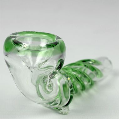 Mini Glass Twist Pipe
