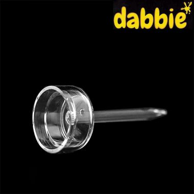 Dabbie Replacement Quartz Carb Cap & Dabber