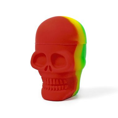 Bounce Silicone Skull Pot