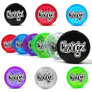 Chongz Plastic 60mm 3 Part Grinder