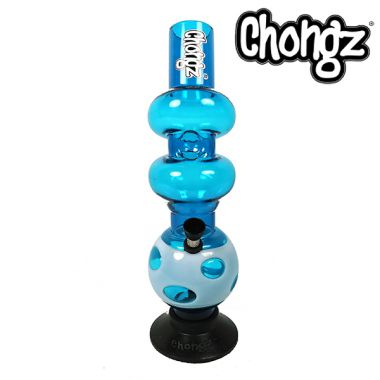 Chongz 'You What' Triple Bubble Acrylic Bong