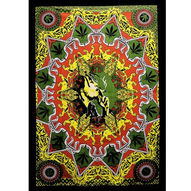 Bob Marley Batik - Smoking