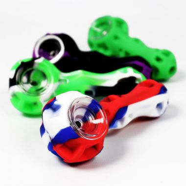Silicone & Glass Pipe