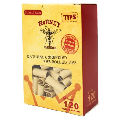 Hornet All Natural Pre-Rolled Tips (120 Pack)