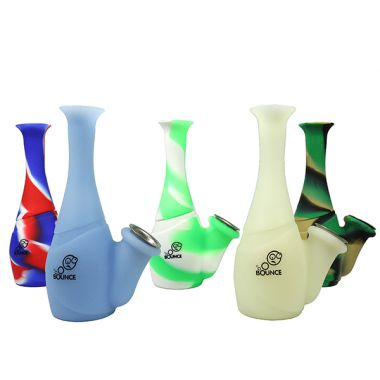 Bounce Silicone Smooth Bubbler