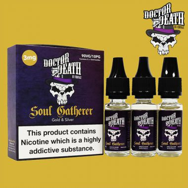 Doctor Death Soul Gatherer (Gold & Silver) 3x10ml Multipack (3mg)