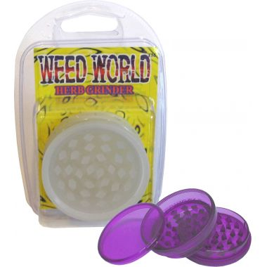 Weed World Grinder - Glow In The Dark