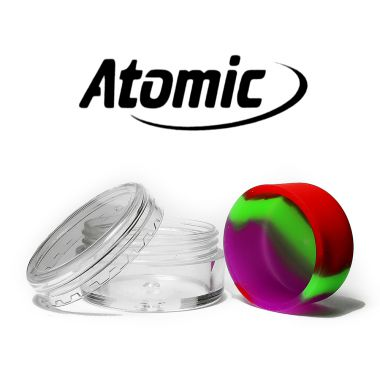 Atomic BHO Silicone Oil Container