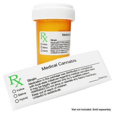 RX Medical Herb Label
