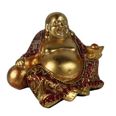 Small Sitting Chinese Buddha Statuette