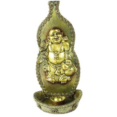 Chinese Buddha Wall Plaque Incense Holder