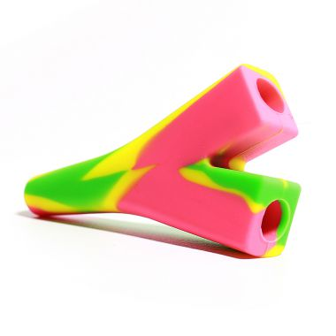 Rasta Silicone Double Cigarette Holder