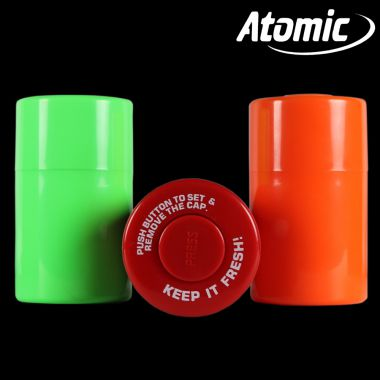 Atomic Airtight Plastic Sealed Stash Cans