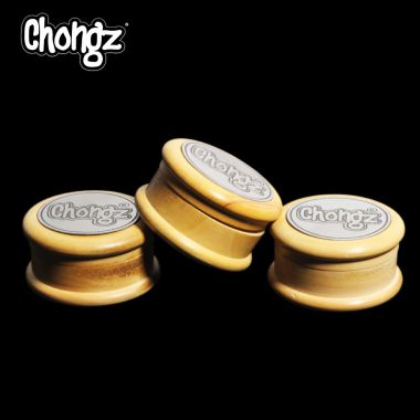 Chongz 'In Wood We Trust' 2 piece Wooden Grinder With Inlay