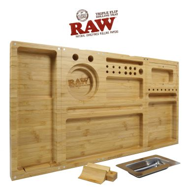 RAW Triple Flip Rolling Tray