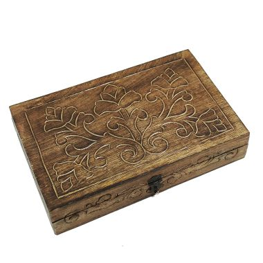 Carved Wooden Box (XL)
