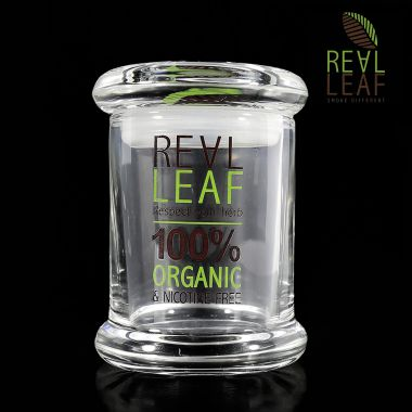 Real Leaf Airtight Glass Container