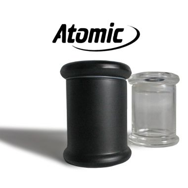 Atomic Glass Storage Pot