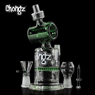 Chongz 'Steamroller' 19cm Mini Glass Bong