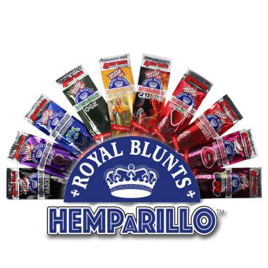 Royal Blunts Hemparillo Wraps 4 Pack