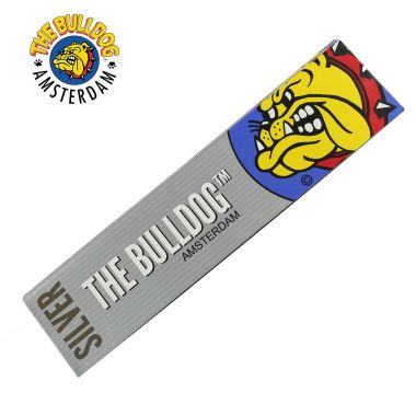 The Bulldog Silver Kingsize Slim Rolling Papers