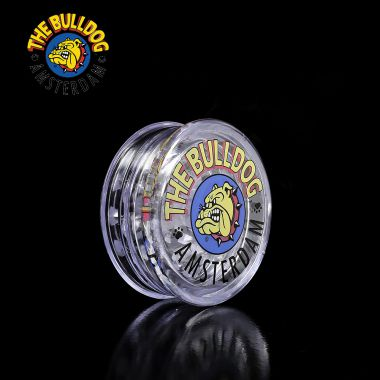 The Bulldog 2-Part Clear Plastic Grinder