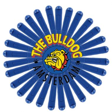 The Bulldog Single Roll-Up Holder