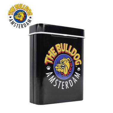 The Bulldog Metal Flip Top Storage Tin
