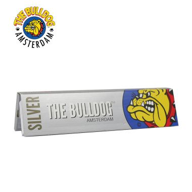 The Bulldog Silver Kingsize Slim Rolling Papers & Filter Tips