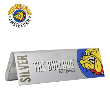 The Bulldog Silver Regular Size Rolling Papers