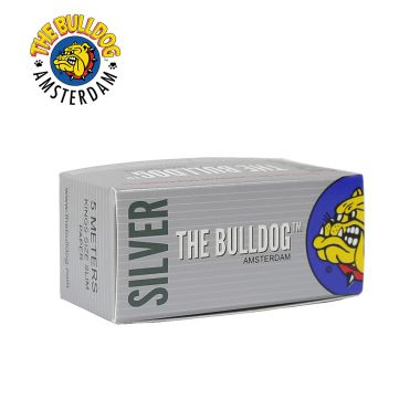 The Bulldog Silver Kingsize Slim Paper Roll