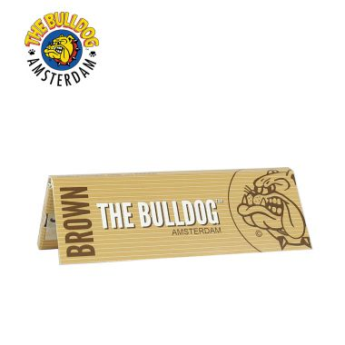 The Bulldog Brown 1 1/4 Size Rolling Papers