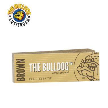 The Bulldog Brown Eco Perforated Filter Tips