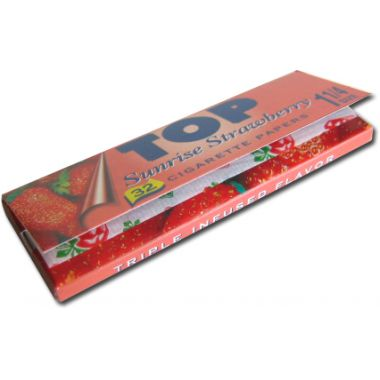 Top Flavoured Rolling Papers - Sunrise Strawberry