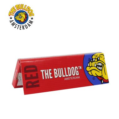 The Bulldog Red Regular Size Rolling Papers
